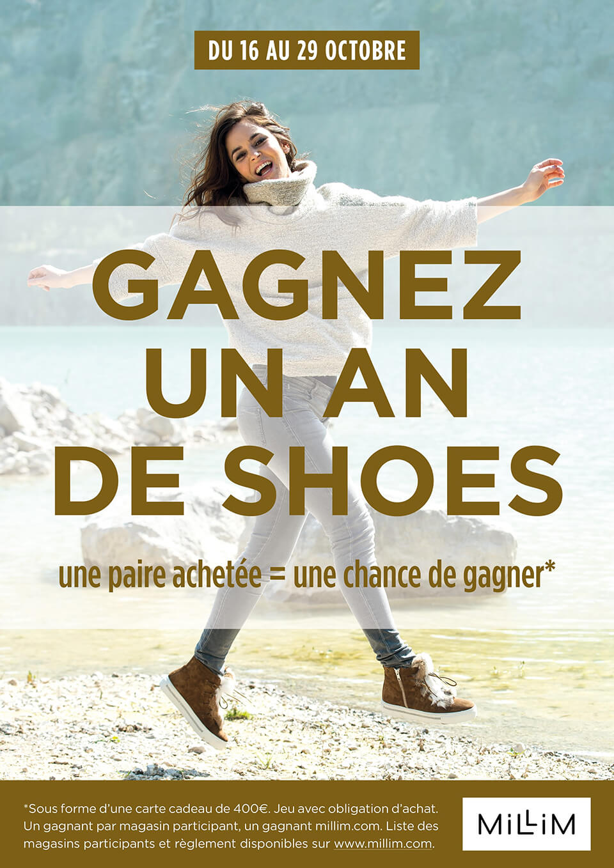 Gagnez un an de shoes