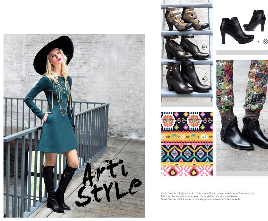 Catalogue Automne Hiver 2014 - 2015 / Artistyle - Femme