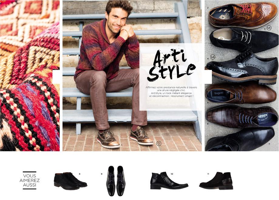 Catalogue Automne Hiver 2014 - 2015 / Arti Style - Homme