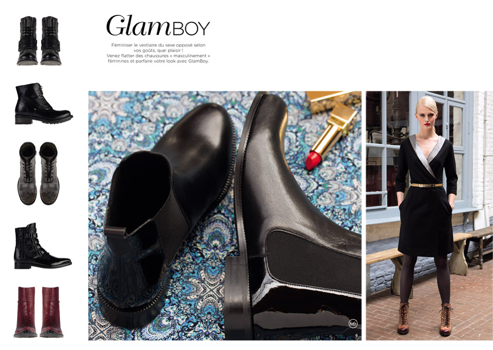 Catalogue Automne Hiver 2014 - 2015 / Glamboy