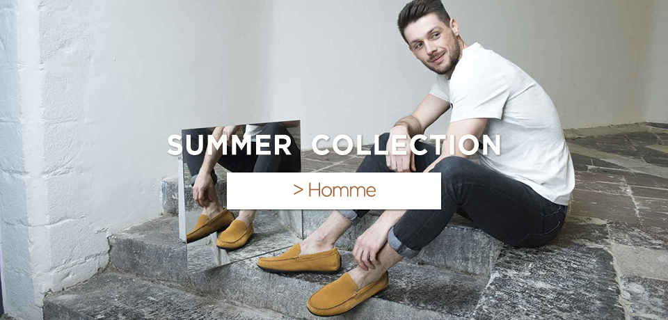 Collection homme;