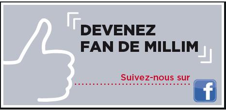 Devenez fan de Millim