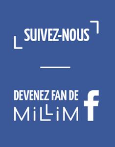 Suivez Millim sur Facebook