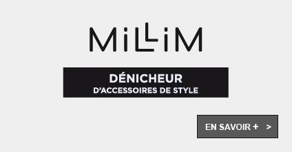 Millim, dénicheur d'accessoires de style